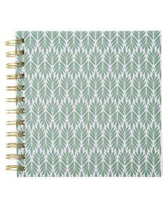Krea Note Book Green Leafs