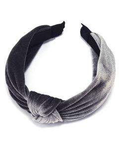 Everneed Velvet Haarband - Grau