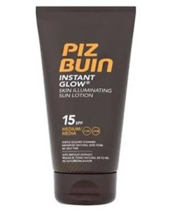 Piz Buin Instant Glow - Skin Illuminating Sun Lotion SPF 15 150 ml