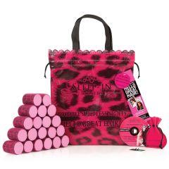 Sleep-in Rollers, Leopard Roller, Gift Set