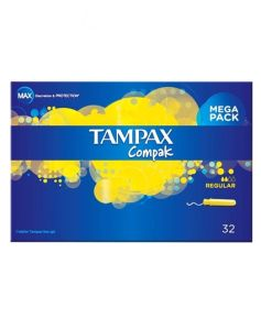 Tampax Compak - Regular 32 stk
