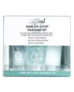 Depend Hand Spa 3-Step Treatment Kit  20 ml