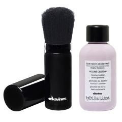 Davines Volume Creator - Texurizing Wood Powder + Refillable Applicator Brush