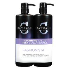 TIGI Fashionista Violet DUO Pack (Incl. Pumpe) 750 ml