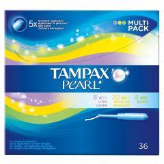 Tampax Pearl Multi-Pack 36 stk