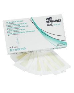 Sibel Cold Depilatory Wax Strips For Face Ref. 7411301