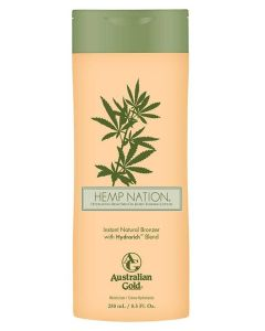Australian Gold - Hemp Nation Instant Natural Bronzer With HydraRich Blend  250 ml