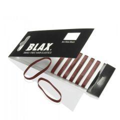 Blax - Snag-Free Hår Elastik BRUN 8stk/4mm