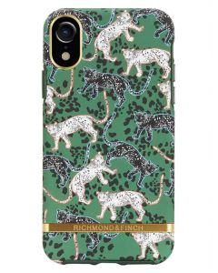 Richmond And Finch Green Leopard iPhone Xr Cover