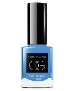 Organic Glam Pale Blue Nail Polish (U) 11 ml