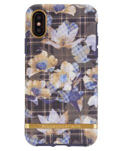 Richmond And Finch Floral Checked iPhone X/Xs Cover