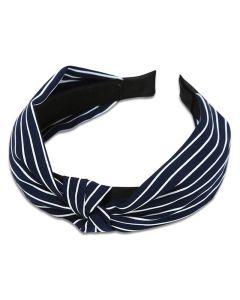 Everneed Haarband Kara Streifen - Navy