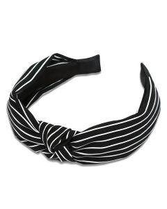 Everneed Haarband Kara Streifen - schwarz