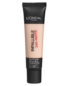 Loreal Infallible 24-Matte - 24 Golden Beige 35 ml