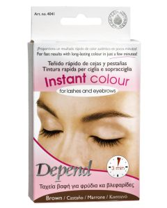 Depend Instant Colour For Lashes And Eyebrows - Brown - Ref. 4041 5 ml