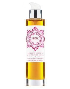 REN Moroccan Rose Otto Ultra-Moisture Body Oil 100 ml