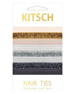 KITSCH - Naturally Mini Hair Ties 8 stk