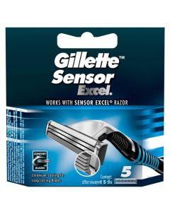 Gillette Sensor Excel - 5 pak