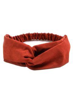 Everneed Annemone Haarband Wildleder - Heiß