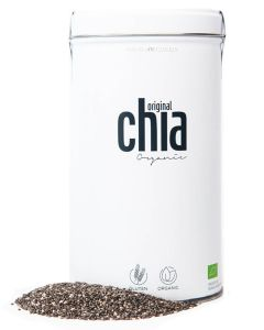 Original Chia - Chia Samen in Blechdosen (Schwarz) 500 g