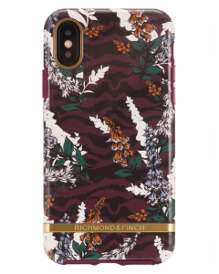 Richmond And Finch Floral Zebra iPhone X/Xs Cover