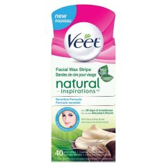 Veet Natural Inspirations Face Wax Strips