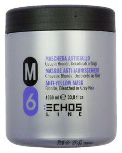 Echosline M6 Anti-Yellow Silver Mask 1000 ml