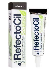 Refectocil Sensitive Bryn og Vippefarve - Black 15 ml