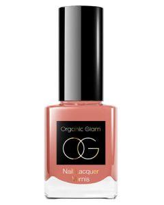 Organic Glam Nude Pink Nail Polish (U) 11 ml