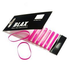 Blax - Snag-Free Hår Elastik PINK 8stk/4mm