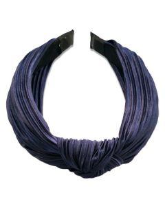 Everneed Haarband Daniella Plissee - Marineblau