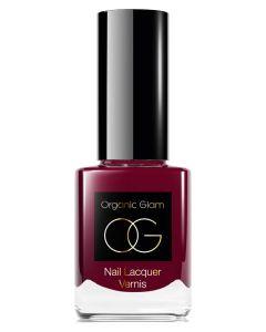 Organic Glam Deep Ruby Nail Polish (U) 11 ml