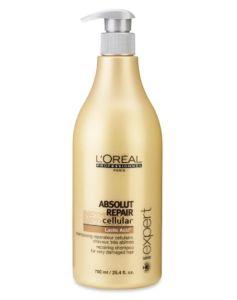 Loreal Absolut Repair Cellular Shampoo (U) 750 ml