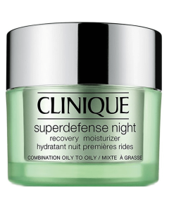 Clinique Super Defense Night Recovery Moisturizer 3-4 Combination Oily To Oily 50 ml