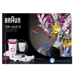 Braun Silk Epil 9 Gift Edition Extra Beauty Pounch 9-567