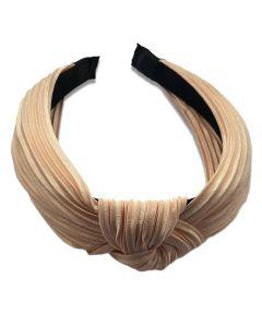 Everneed Haarband Daniella Plissee - Nude