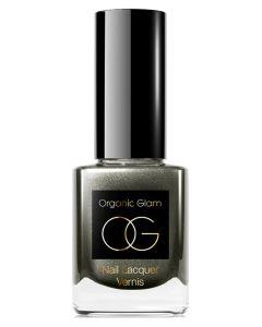 Organic Glam Deep Grey Nail Polish (U) 11 ml