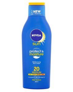 Nivea Sun Protect And Moisture SPF 20 Medium (Creme) 200 ml
