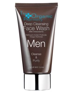 The Organic Pharmacy Men Deep Cleansing Face Wash 75 ml