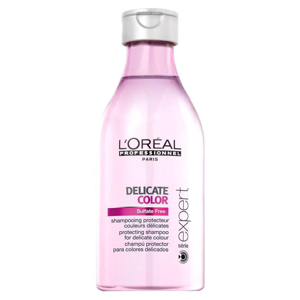 Loreal Delicate Color Sulfate Free Shampoo (U) 250 ml