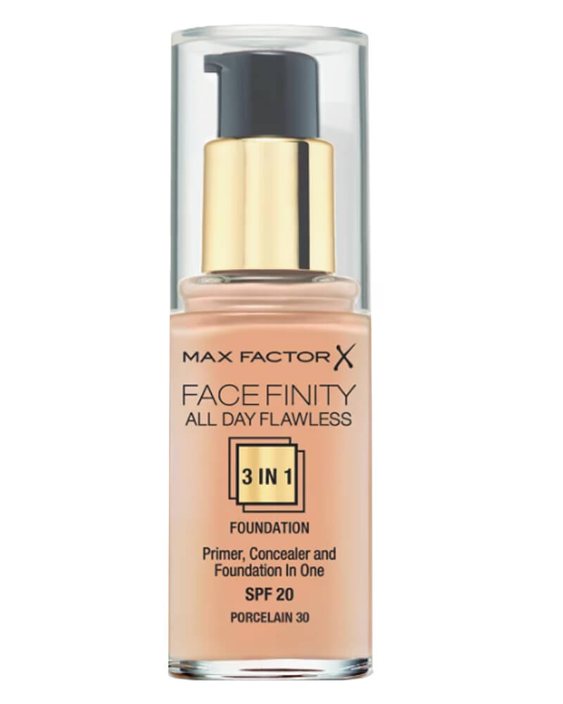 Max Factor Facefinity 3-in-1 Foundation Porcelain 30 30 ml
