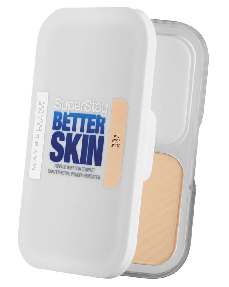 Maybelline SuperStay Better Skin Perfecting Powder Foundation - 010 Ivory