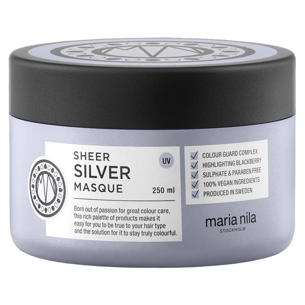 Maria Nila Sheer Silver Maria Nila Sheer Silver Silver Masque Maske