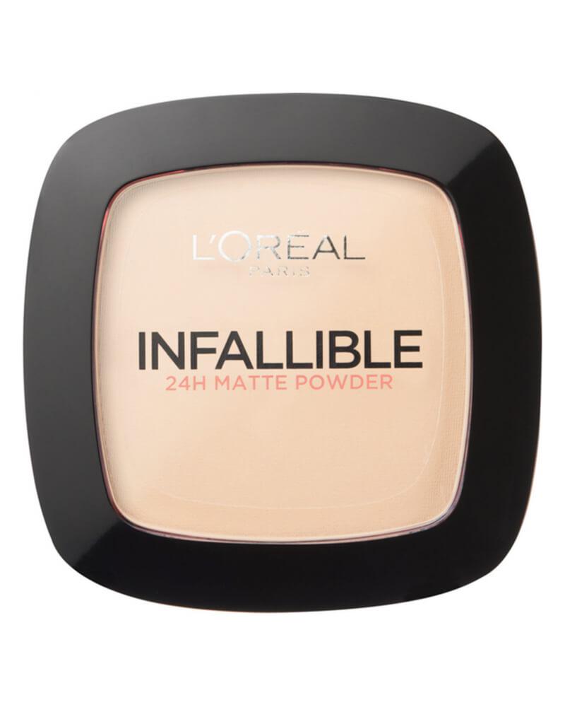 L'Oréal Infallible 24H Matte Powder - Warm Vanilla 123 9 g