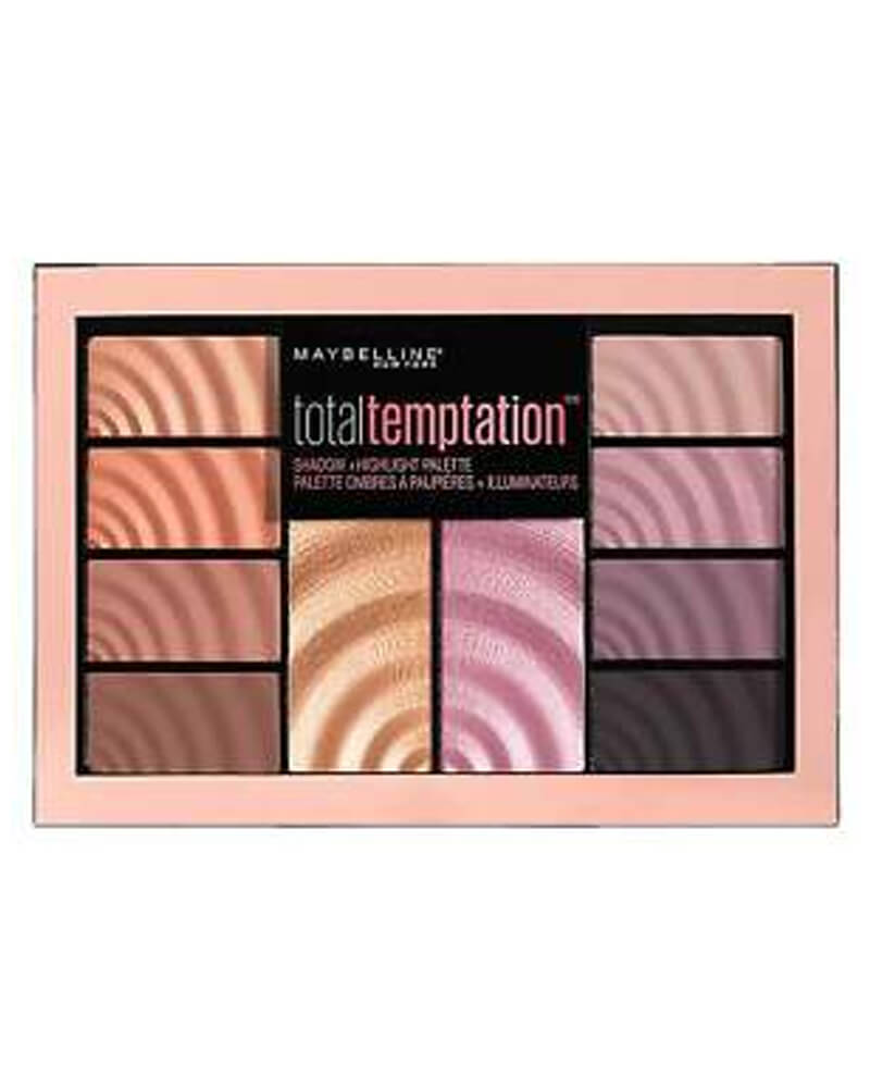 Maybelline Total Temptation Shadow + Highlighter 12 g