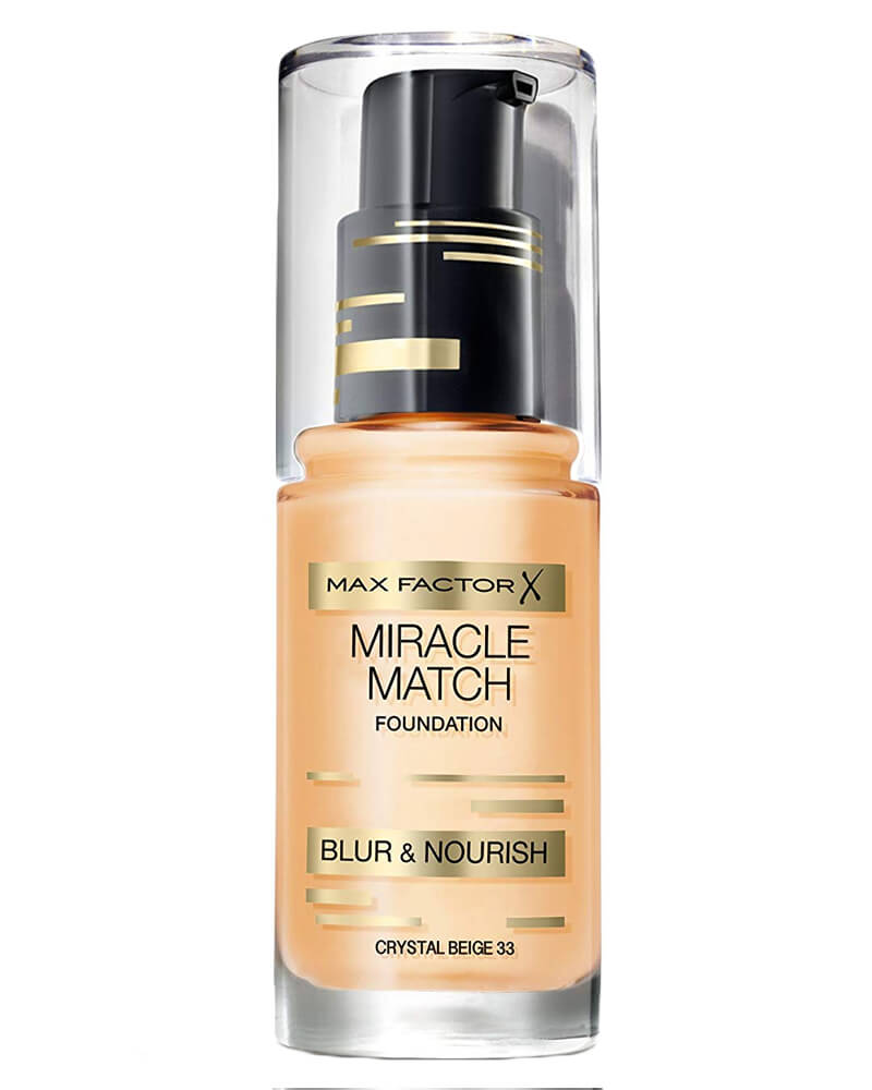 Max Factor Miracle Match Foundation Crystal Beige 33 30 ml