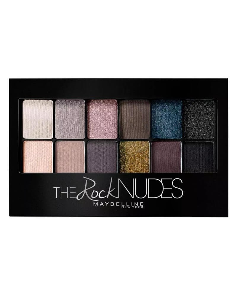 Maybelline The Rock Nudes Eyeshadow Palette 9 g