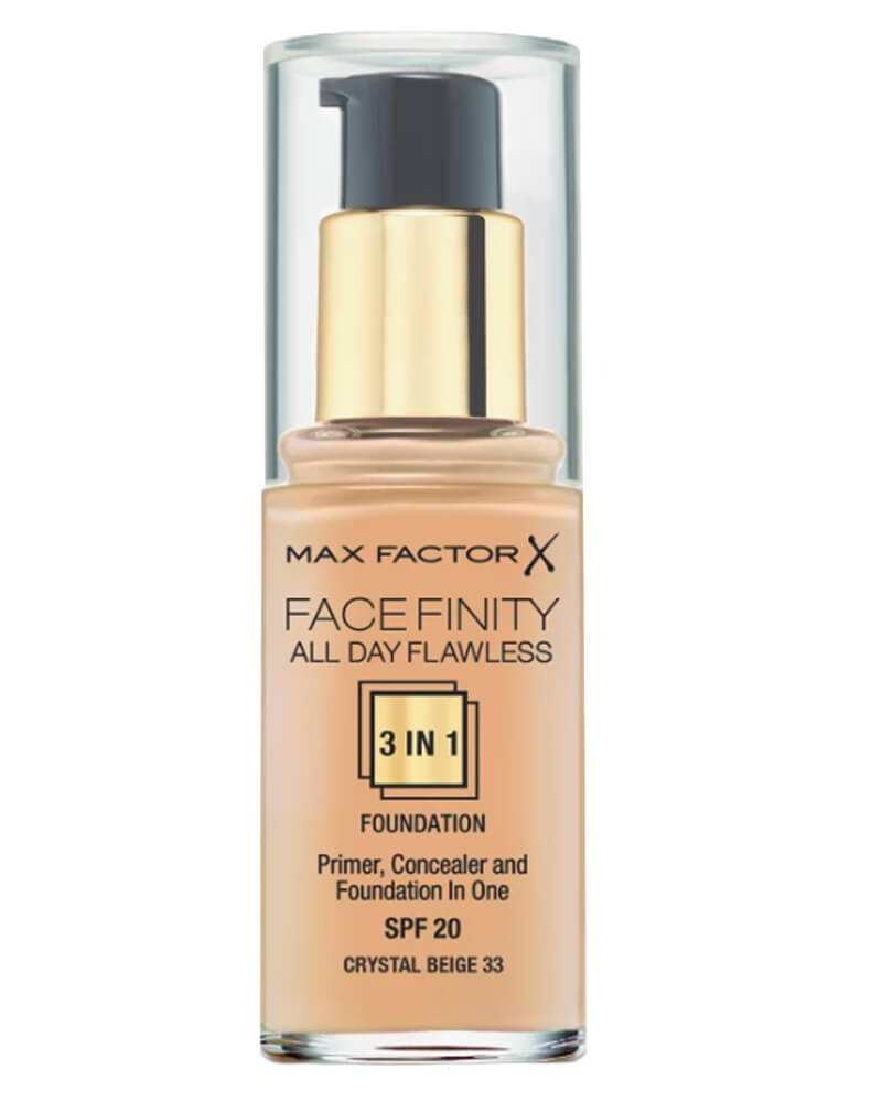 Max Factor Facefinity 3-in-1 Foundation Crystal Beige 33 30 ml