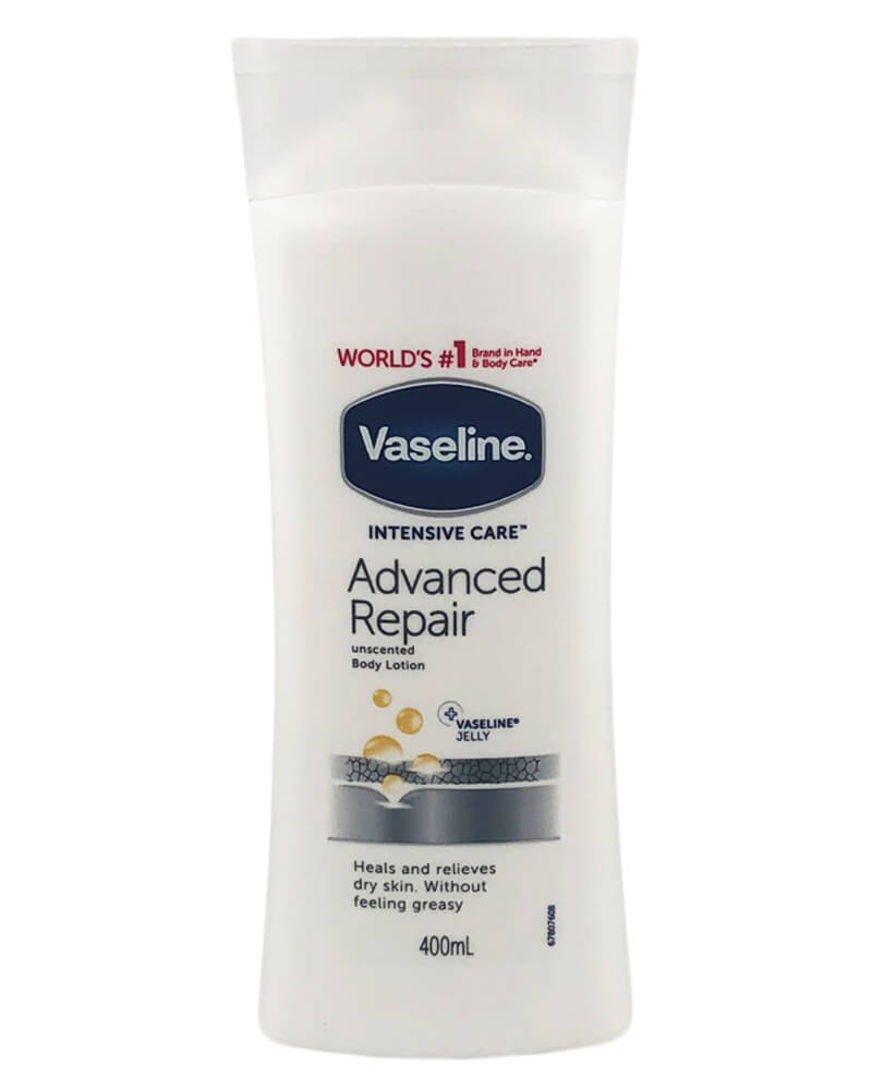 Vaseline Advanced Repair Unscented Body Lotion