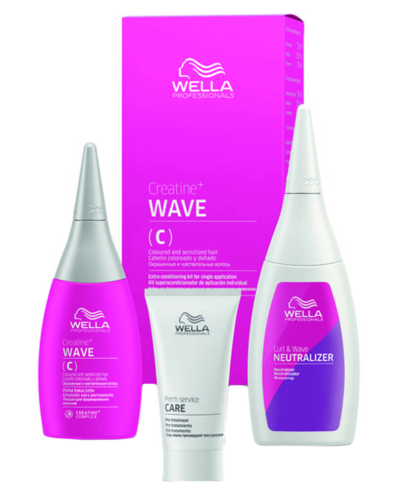 Wella Creatine+ Wave (C) For Coloured And Sensitive Hair